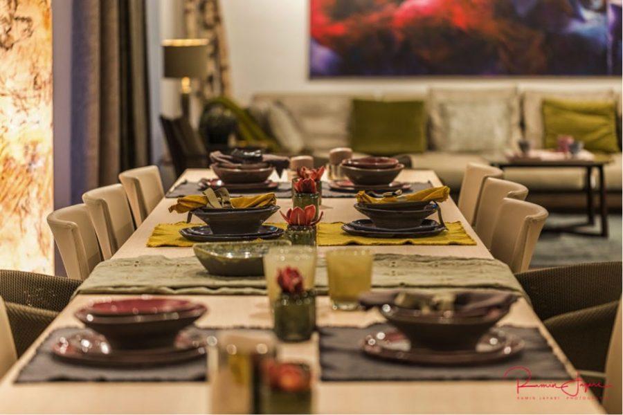 Heringsschmaus, Dinner, Familienfeier, Präsentation, Empfang, Firmencocktail, Freundesrunde.
