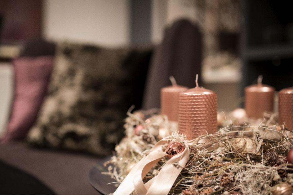 Designer-Adventkränze aus dem Jungbrunnen – prachtvoll
