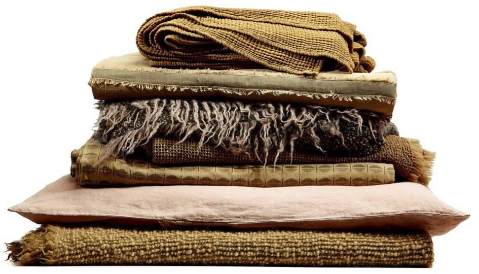 Komm ins Bett! Neue Plaids, Kissen und Bettwäsche von Society Limonta